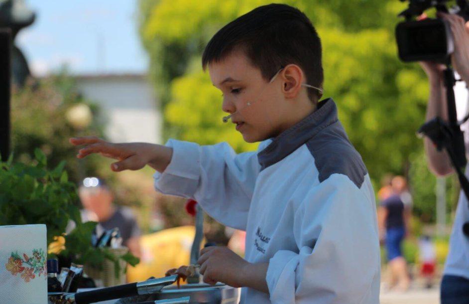 Mateusz Truszkiewicz gotuje z AB Foods [ZDJĘCIA]
