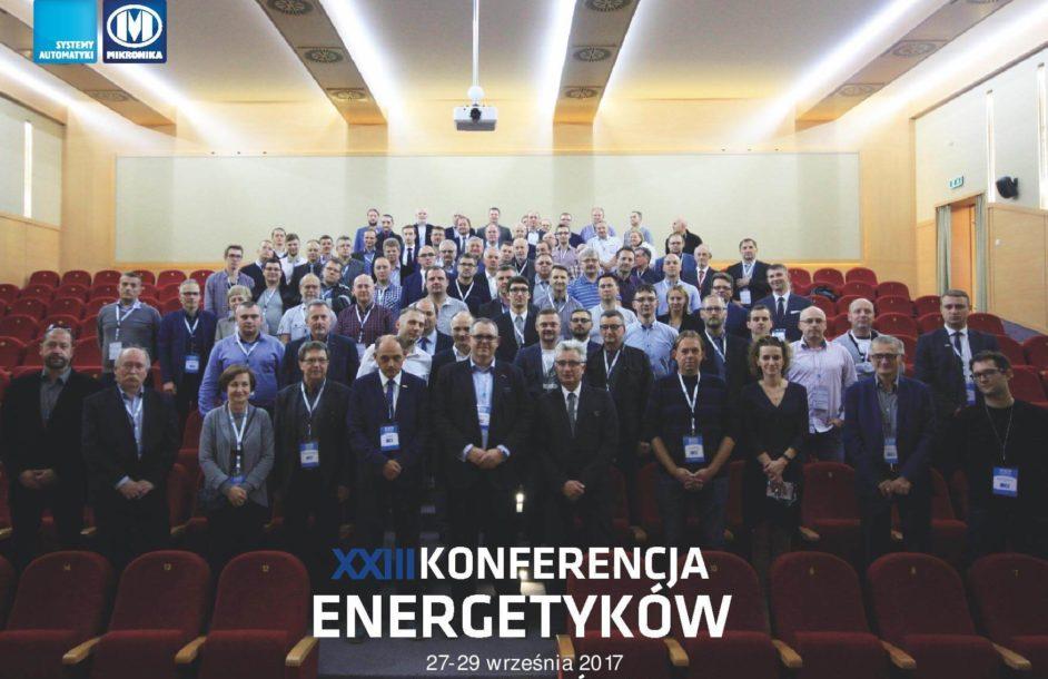 Mazel na XXIII Konferencji Energetyków