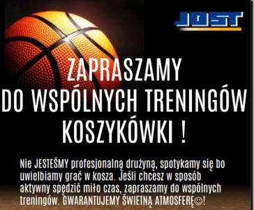 treningi koszykówka Jost