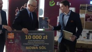 Świeć się z Energą - Nagroda dla Nowej Soli