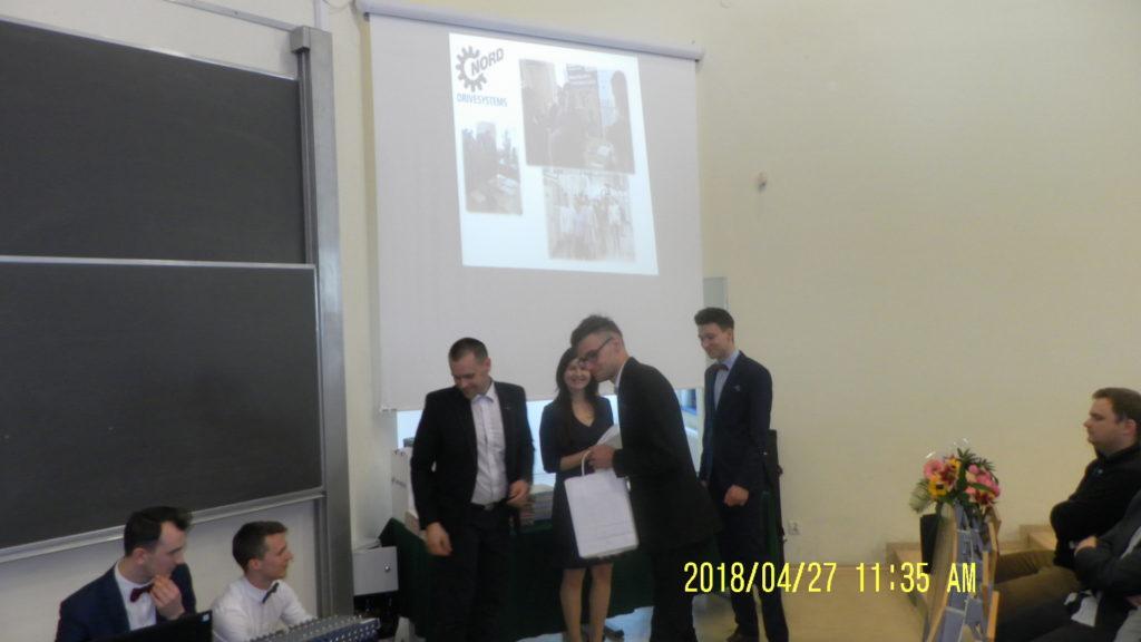 Szkolenie Nord wręczenie Certyfikatów uczniom zielonogórskiego Elektryka