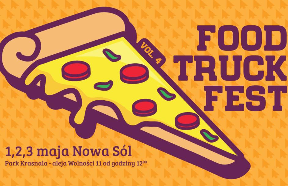 Pierwszy festiwal jedzenia Food Truck Fest w Nowej Soli