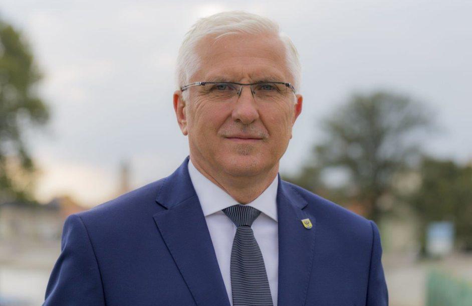 Spotkanie z prezydentem Tyszkiewiczem