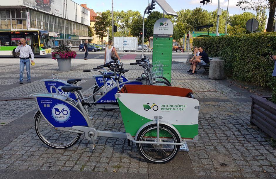 Ruszyły zielonogórskie rowery miejskie