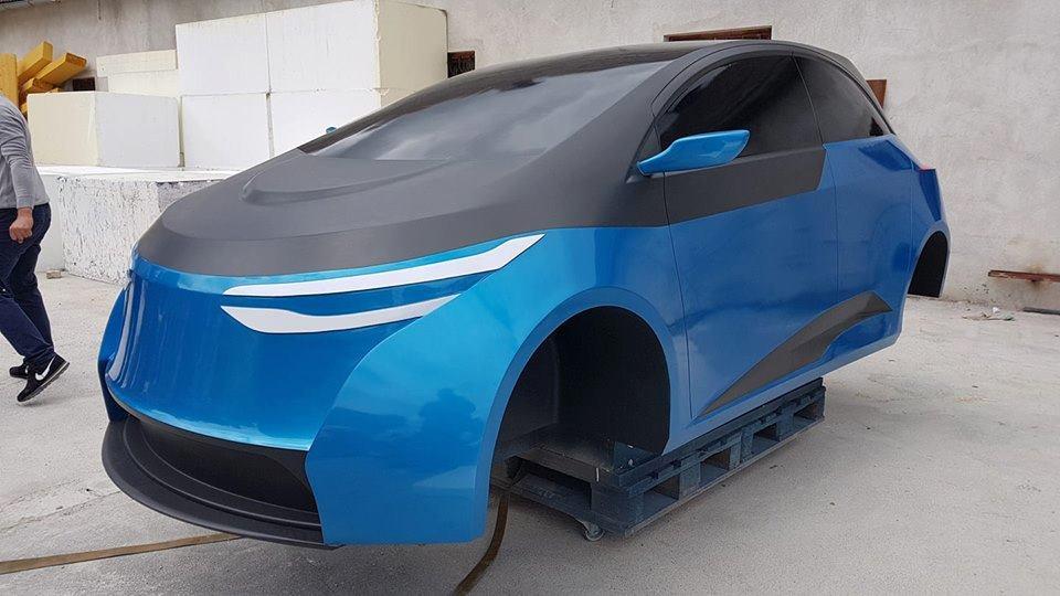 elektryczny samochód z Nowej Soli
