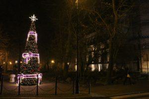 świątecznie nowa sól ozdoby uliczne