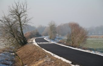 Pierwsze 5 kilometrów ścieżki rowerowej gotowe