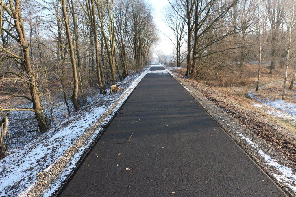 ścieżka rowerowa nowa sól