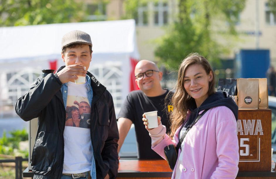 Majówkowe obżarstwo. Food Truck Fest i Nowa Praca w Parku Krasnala [ZDJĘCIA]