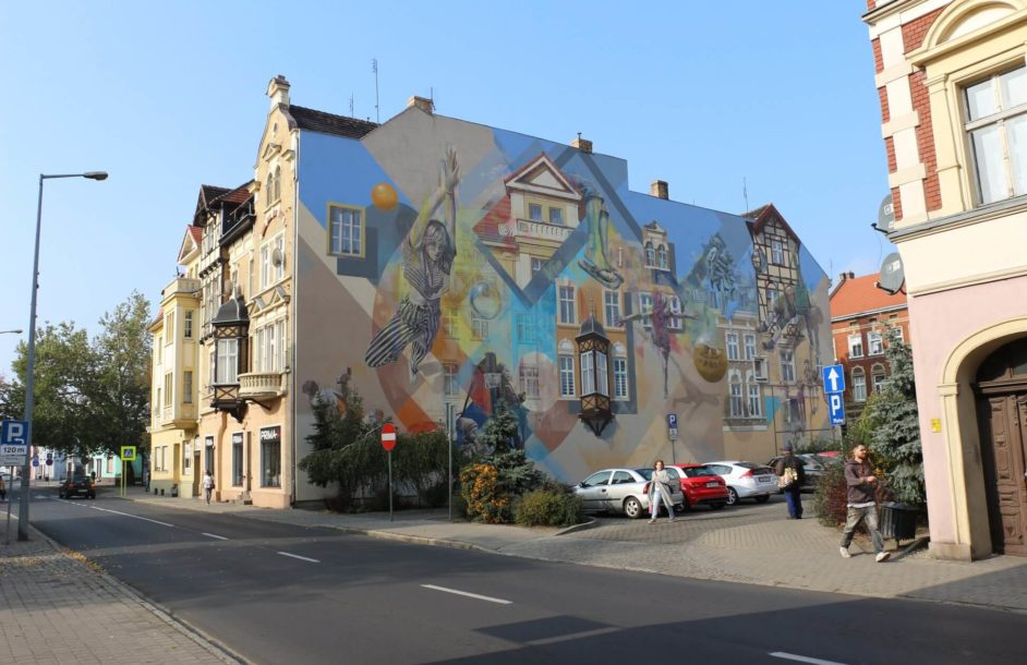 Mural przy Głowackiego już jest!