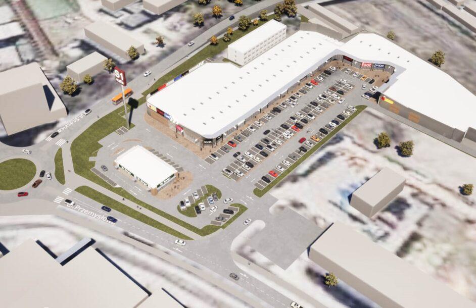 Rusza budowa parku handlowego