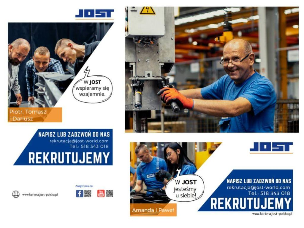 kampania promocyjna firmy jost