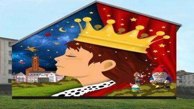 Bajowy mural w Nowej Soli